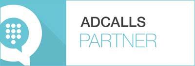 AdCalls partner badge